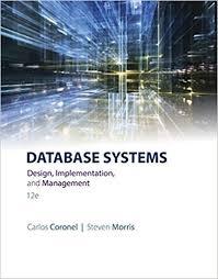 Brunner Suddarth 12 Edition Test Bank Database Systems Design Implementation And Management 12th Edition By Carlos Coronel Test Bank Test Bank Way