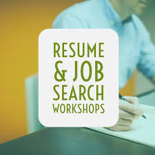 Resume Job Search Workshops The Waters Church