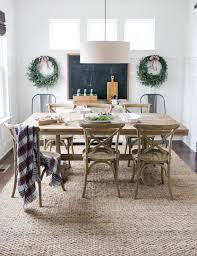 jute rug from rugs usa dining table from world market chairs from restoration hardware madeline side chair in weathered oak