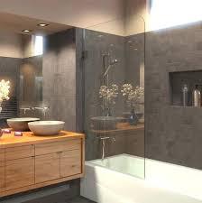 bathtub glass door the clear bathtub glass door is a robust hygienic and prettier alternative to bathtub glass door