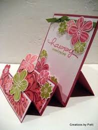 Pin by Ava Heffner on Birthday card | Step cards, Handmade birthday cards,  Fancy fold cards