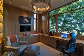 contemporary home office furniture tv. basement tv built in home office contemporary with work space furniture