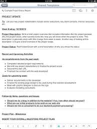 Template Sample Weekly Status Report Template Beautiful New Project