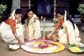the major monsoon festivals in  onam