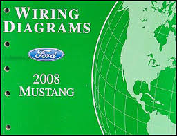 2008 ford mustang wiring diagram manual original