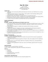 Cna Resume Sample With Experience Resume Sample Skills Resume Resume ...