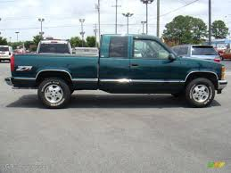 1995 Emerald Green Metallic Chevrolet C/K K1500 Silverado Z71 ...