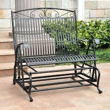 patio gliders and swings images about on for wrought iron porch swing furniture patio gliders