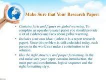 sample research paper global warming college essay help in nj global warming research paper introduction outline
