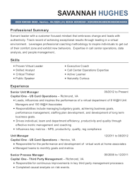 Best Senior Operations Analyst Resumes Resumehelp
