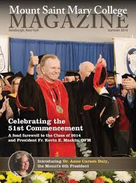 Mount Saint Mary College Magazine Summer 2014 By Mount Saint