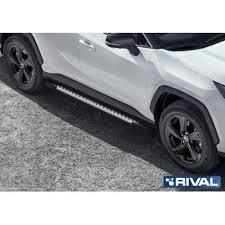 """<b>Порог</b>-площадка """"<b>Bmw</b>-<b>Style</b>"""" <b>Rival</b> для <b>Toyota</b> RAV IV 2019 ..."""