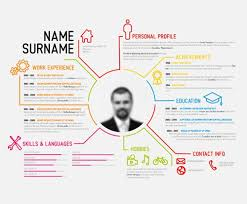 Visual Resume Templates Magnificent Infographic Resume Template Infographic Resume Template 28 Best