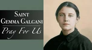 Learn about the holy st. Saint Gemma Medal With Necklace Gemma Galgani