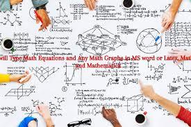type math equations oferta