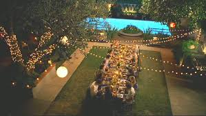 backyard party lighting ideas. long dining table for backyard party summer ideas garden u0026 landscape nice lighting a