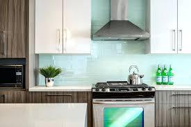 blue glass tile backsplash ideas nice v stones design of