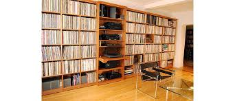 Wall Unit for Vinyl Record Album Storage Scott Jordan Furniture