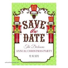 save the date template free download christmas party save the date templates free download email