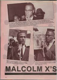 Image result for Malcolm X was shot to death by Nation of Islam members while speaking at a rally of his organization in New York City.