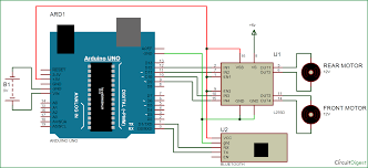 bluetooth controlled robot car using arduino bluetooth controlled car circuit diagram