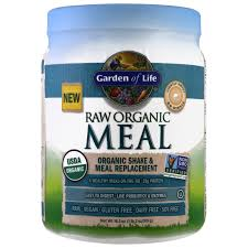 garden of life raw organic meal organic shake meal replacement lightly sweet 16 oz 454 g