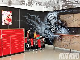 forged cabinets by vault appears on diy network in makeover of hot rod s garage