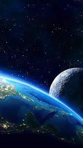 Hd Wallpaper Planet Moon
