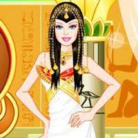 barbie egyptian princess dressup