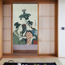 Nice Curtains Japanese Style Cretive Partition Curtain Cloth Door Hanging  Curtain Japanese Maid Door Curtain