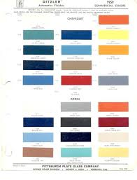 Interlux Paint Chart 44 Memorable Dupont Automotive Paints Color Chart