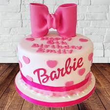 Send Barbie Designer Fondant Cake Online In India At Indiagiftin