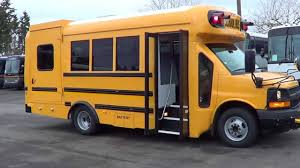 wheelchair lift bus.  Lift Northwest Bus Sales 2014 Chevy Starcraft Quest TypeA School Buswith Wheelchair  LIft B13982  YouTube In Lift