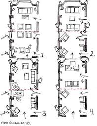 furniture placement for long narrow living rooms. some ideas for arranging furniture in a long and narrow living room with many entrance doors placement rooms