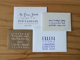 Original Ellen Foord How To Hand Letter An Envelope Cover