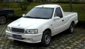 A Daihatsu Charade But Different: The Geely Mini Pickup Trucks ...