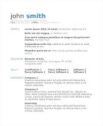 Modeling Resume Template Inspiration Model Resume Template Top 48 Resume Templates Picture Of Resume Model