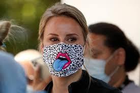 Coronavirus couture: Custom face masks around the world | Reuters.com