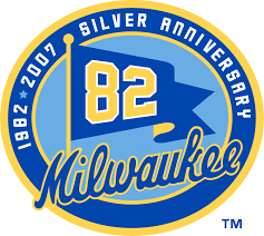 Milwaukee Brewers Anniversary Logo - National League (NL) - Chris ...
