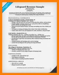 Firefighter Resume Examples Lifeguard Resume Example 250 325 Png
