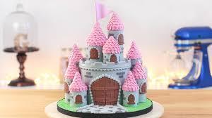 Easy Princess Castle Cake Tan Dulce Youtube