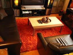 easy ideas for using the burnt orange area rug — home ideas collection