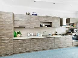 Modern kitchen cabinet Blue Modern Gray Bamboo Kitchen Cabinets Hgtvcom Modern Kitchen Cabinet Doors Pictures Options Tips Ideas Hgtv