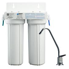 2 stage under sink filtration system