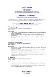 Monster Resume - Resume Templates