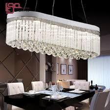 new design oval crystal chandelier modern crystal lamp dinning room