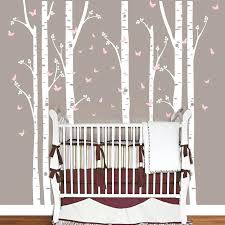 large wall decals huge removable birch tree erfly vinyl wall art decals large wall stickers baby