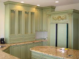green kitchen cabinets couchableco: antique kitchen cabinets are elegant to kitchen background the