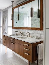 This 61 rustic style bathroom vanity features beautiful wooden doors, options of natural carrera white marble top with backsplash and white ceramic sink. Dreamy Bathroom Vanities And Countertops Hgtv