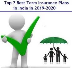 Term Insurance Premium Comparison Chart Top 7 Best Term Insurance Plans In India In 2019 2020